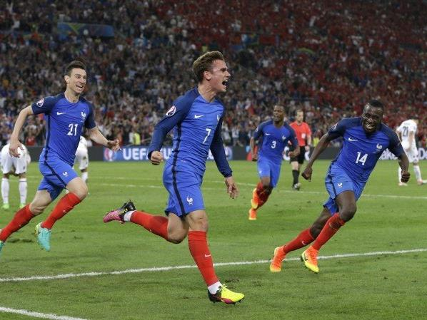 Griezmann erzielte das wichtige 1:0 für EM-Gastgeber Frankreich.