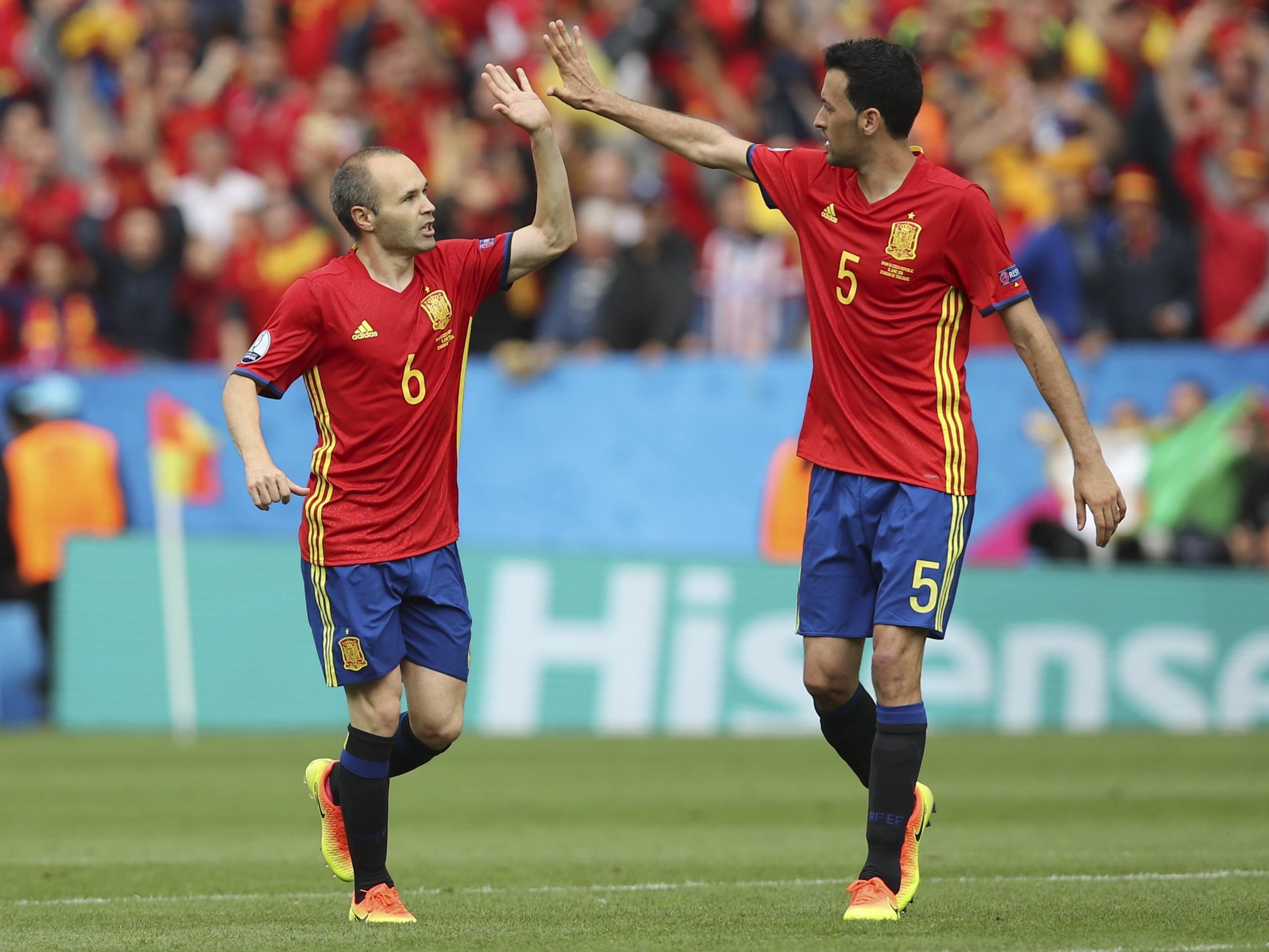 Türkei Spanien Em