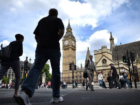 Die Zukunft von 3,3 Millionen EU-Bürgern in Großbritannien ist ungewiss