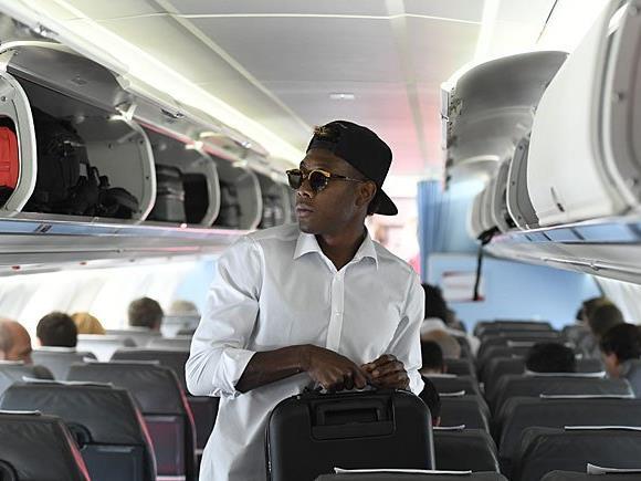 David Alaba vor dem Heimflug des ÖFB-Teams nach Wien
