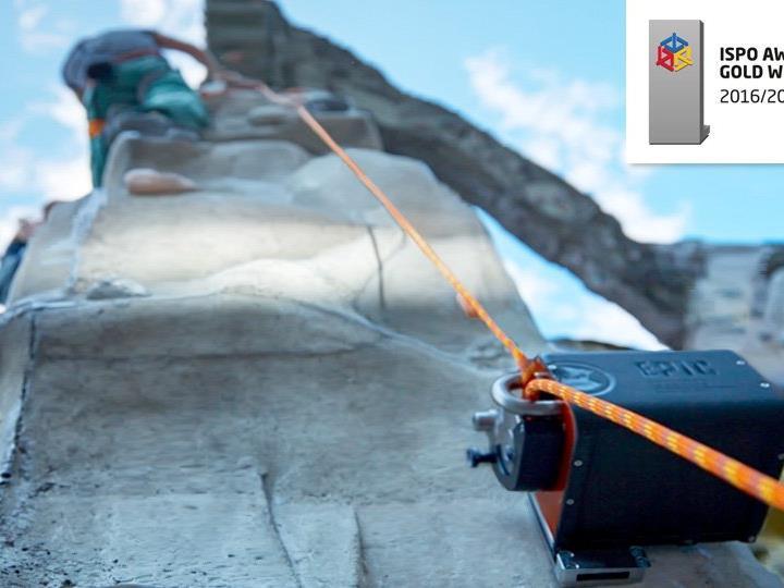 Neues Sicherheitstool für den Klettersport.