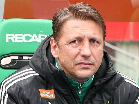 Trainer Zoran Barisic wird in Kürze nicht mehr für Rapid Wien tätig sein