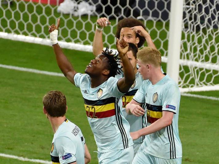 Das belgische Team kämpfte sich gelungen ins Viertelfinale.