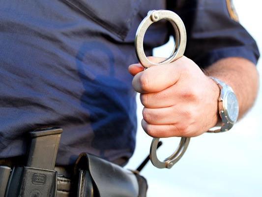 Der mutmaßliche Einbrecher wurde festgenommen