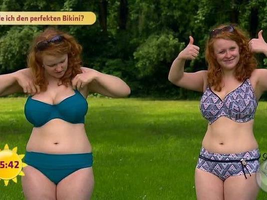 Bei Problemzonen am Körper ist im Sommer besonders auf die Bikiniauswahl zu achten.