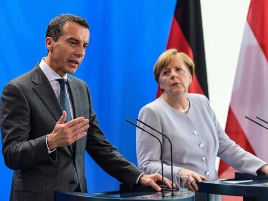 Bundeskanzler Kern zu Besuch in Berlin