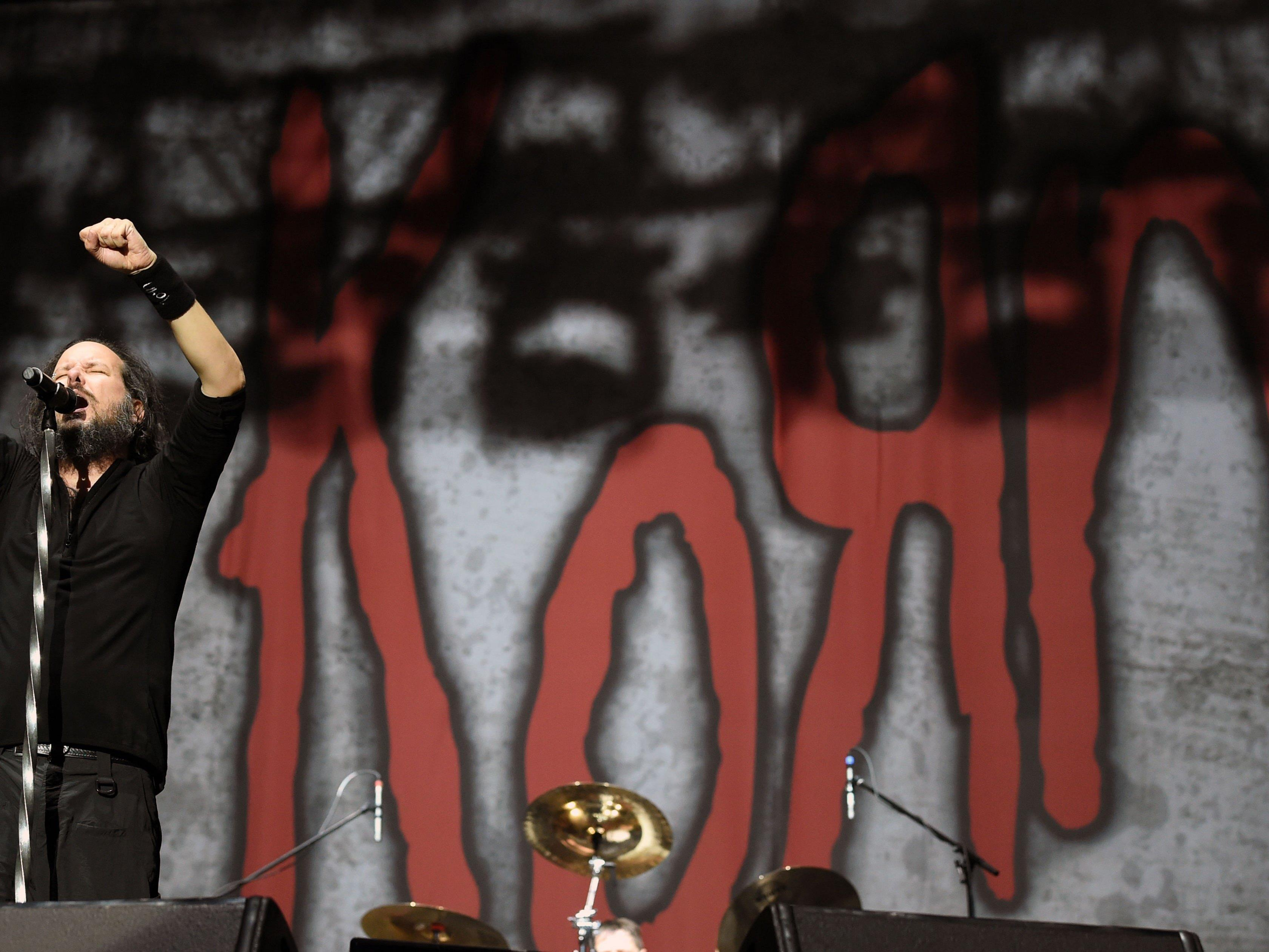 Headliner Korn am Nova Rock 2016.