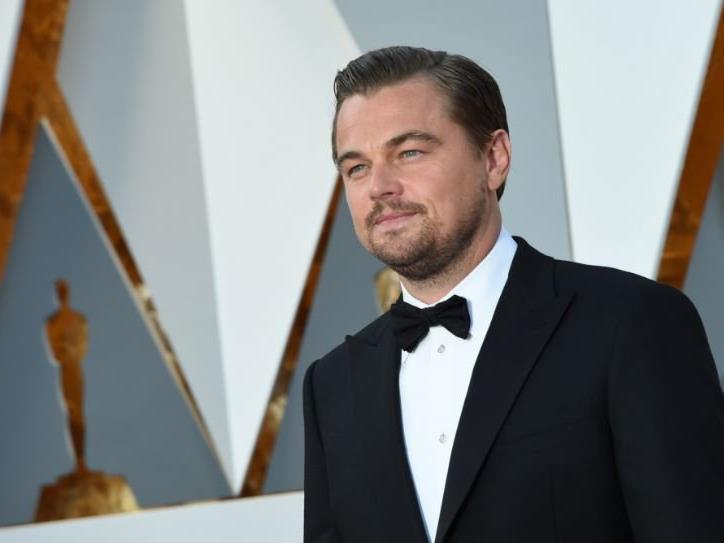 Frisch verliebt. Leonardo DiCaprio.
