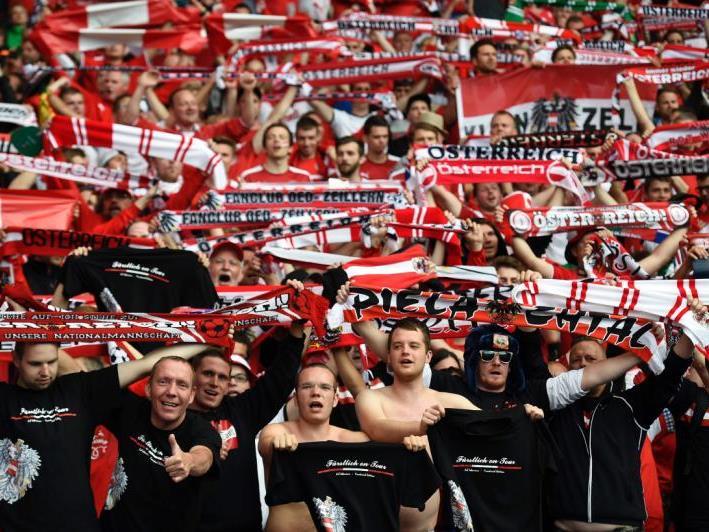 Viele ÖFB-Fans pilgern eigens nach Paris.