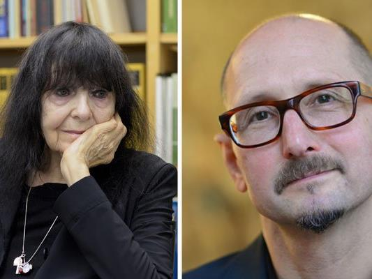 Literaturgrößen bei den O-Tönen 2016: Friederike Mayröcker und Heinrich Steinfest