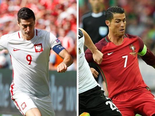 Polen trifft im Viertelfinale der EURO 2016 auf Portugal.