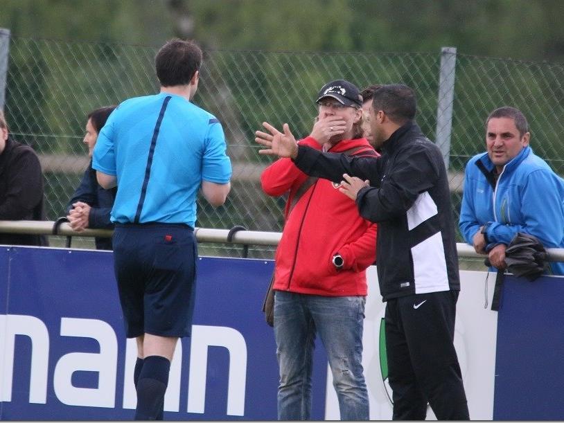 Schiri Michael Baumann verweigerte Altach Spielern einen zweiten Einsatz