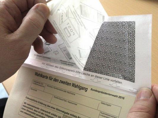 Unklarheiten zur Briefwahl im Zuge der BP-Wahl.