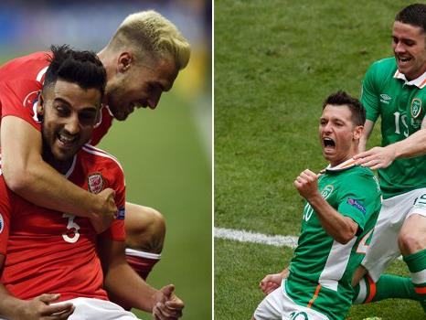 Wales und Nordirland treffen im 2. EM-Achtelfinale aufeinander.