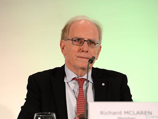 WADA-Chefermittler McLaren stellte breitflächige Vergehen fest