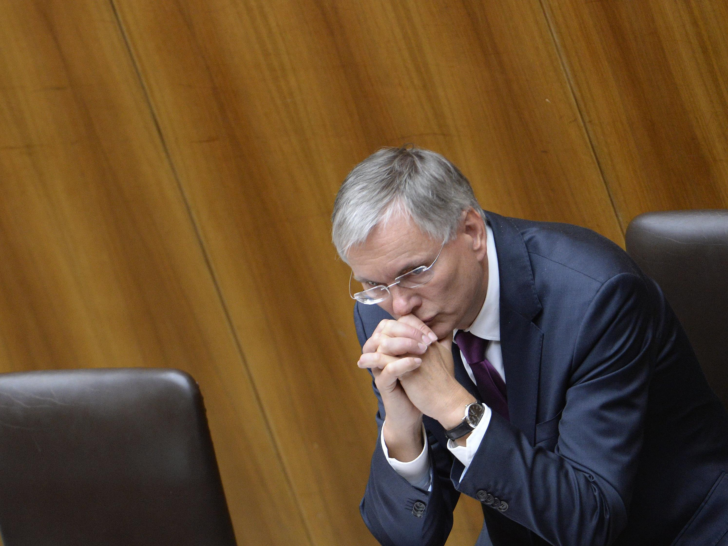 Sozialminister Stöger sieht die Deckelung verfassungwidrig