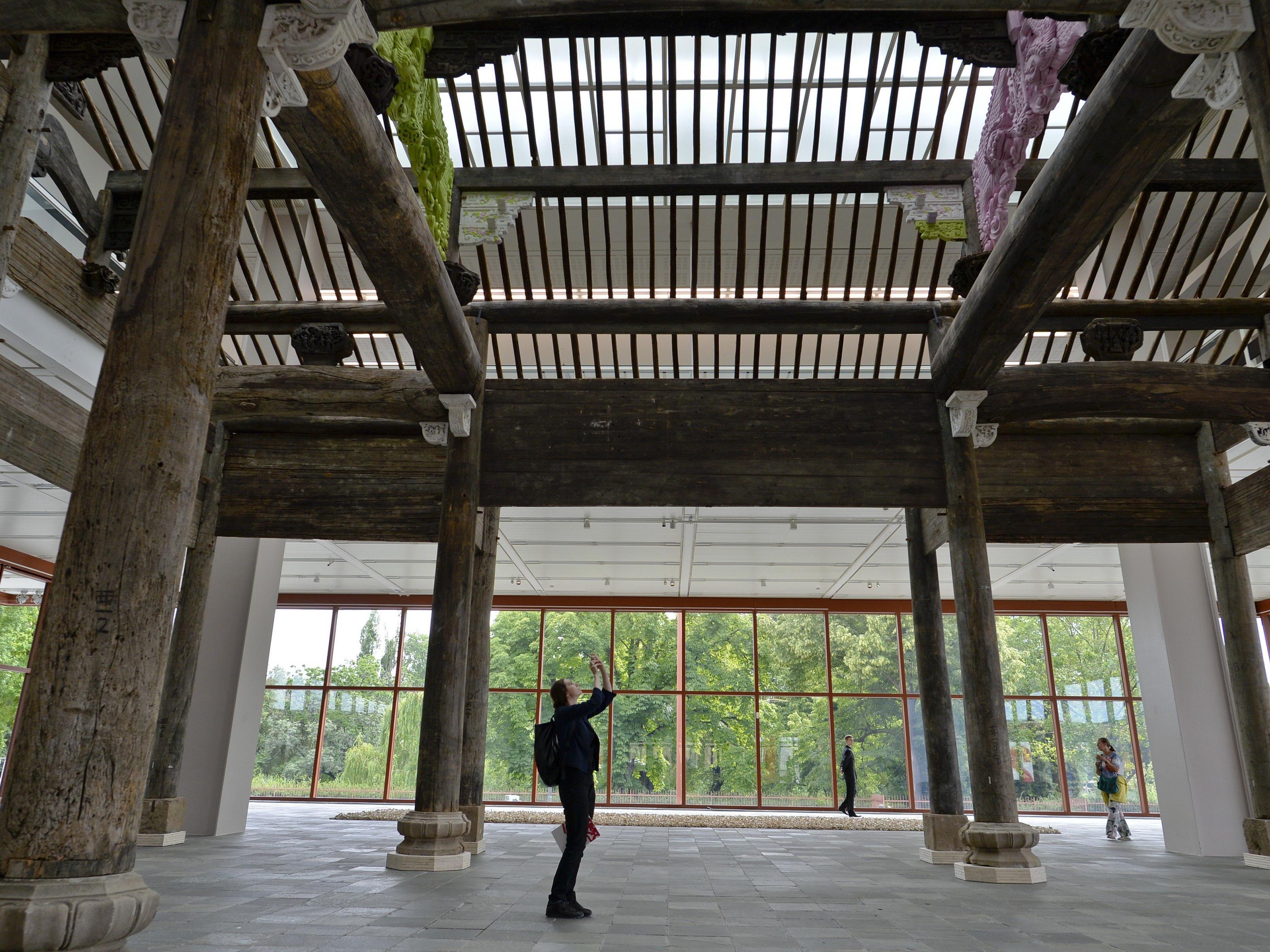 Die Ai-Weiwei-Ausstellung im 21er Haus.