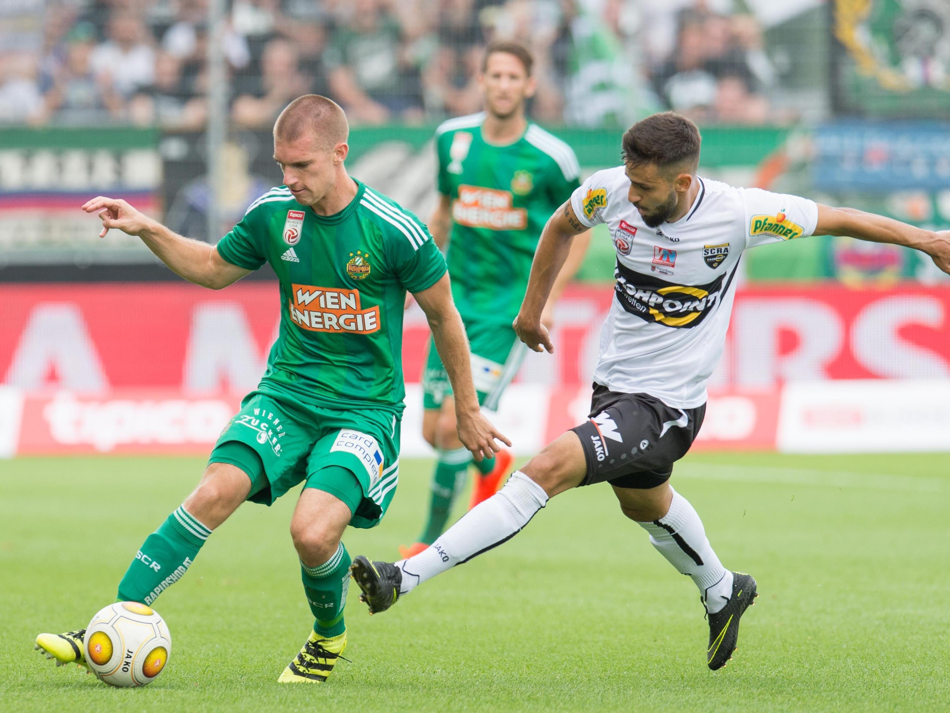 Altach feierte gegen Rapid einen verdienten 1:0-Sieg.