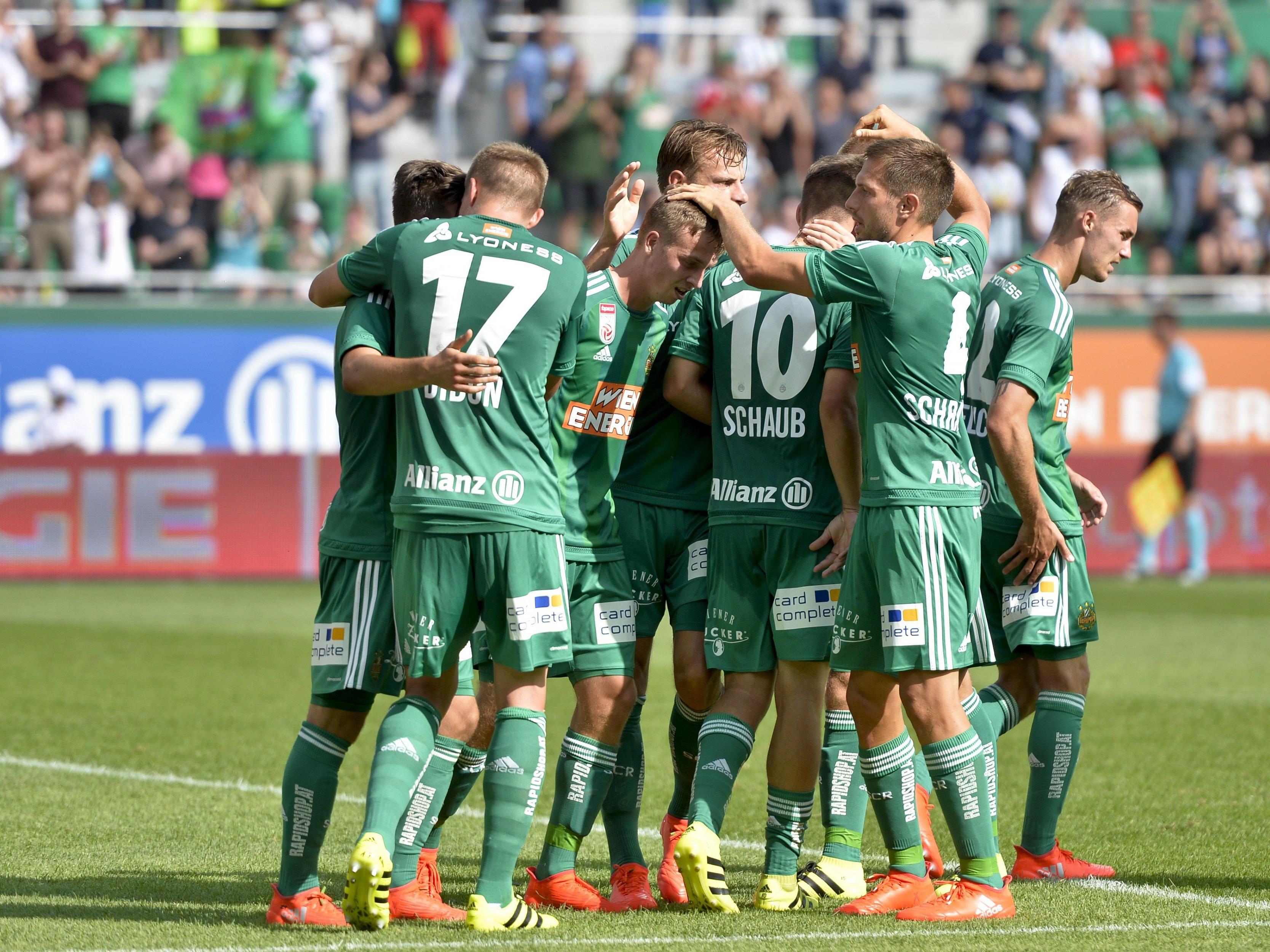 LIVE-Ticker zum Spiel SCR Altach gegen SK Rapid Wien ab 16.30 Uhr