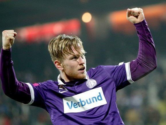 Kevin Friesenbichler spielt wieder im Team der Wiener Austria.