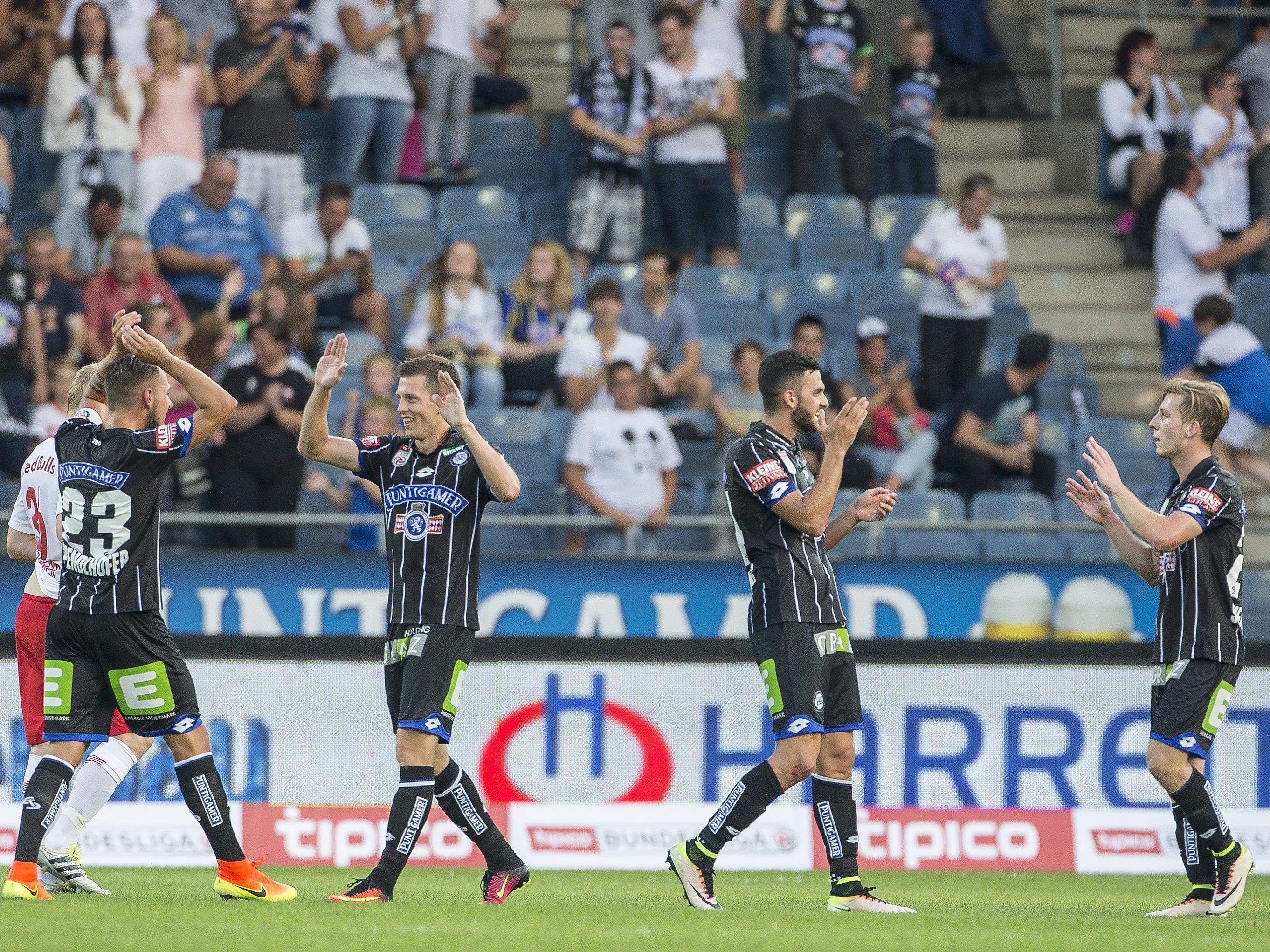 LIVE-Ticker zum Spiel SV Ried gegen SK Sturm Graz ab 18.30 Uhr.