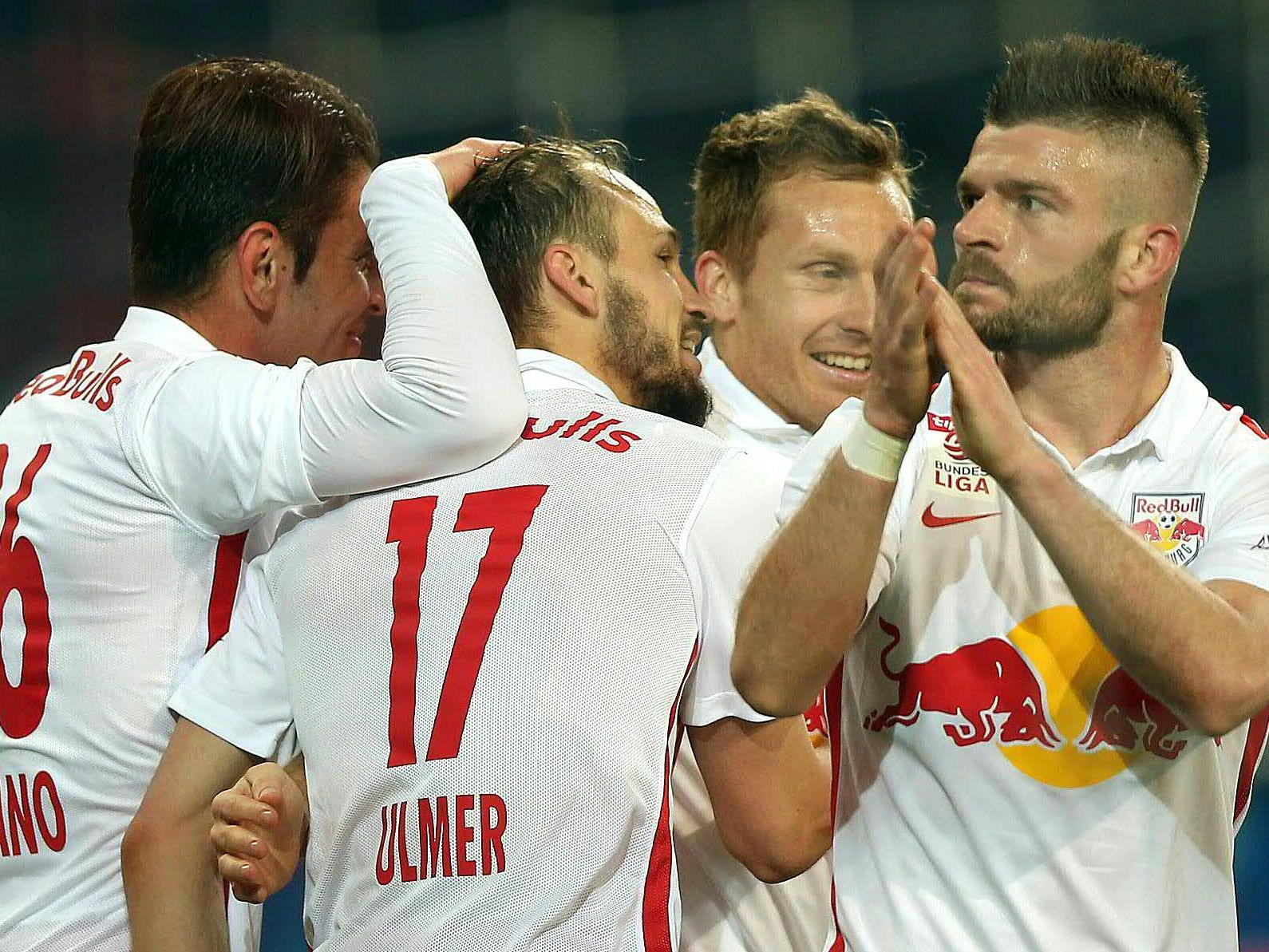LIVE vom Spiel Sturm Graz gegen Red Bull Salzburg ab 18.30 Uhr.