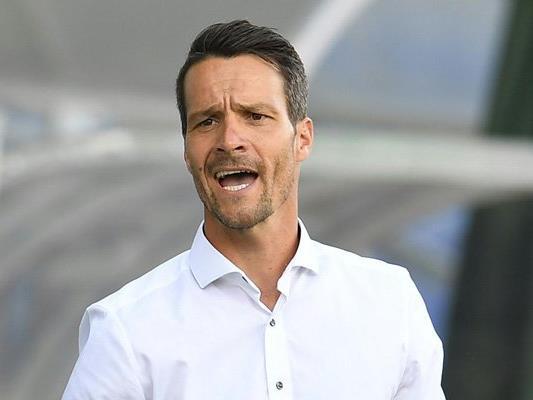 Admira-Trainer Oliver Lederer.