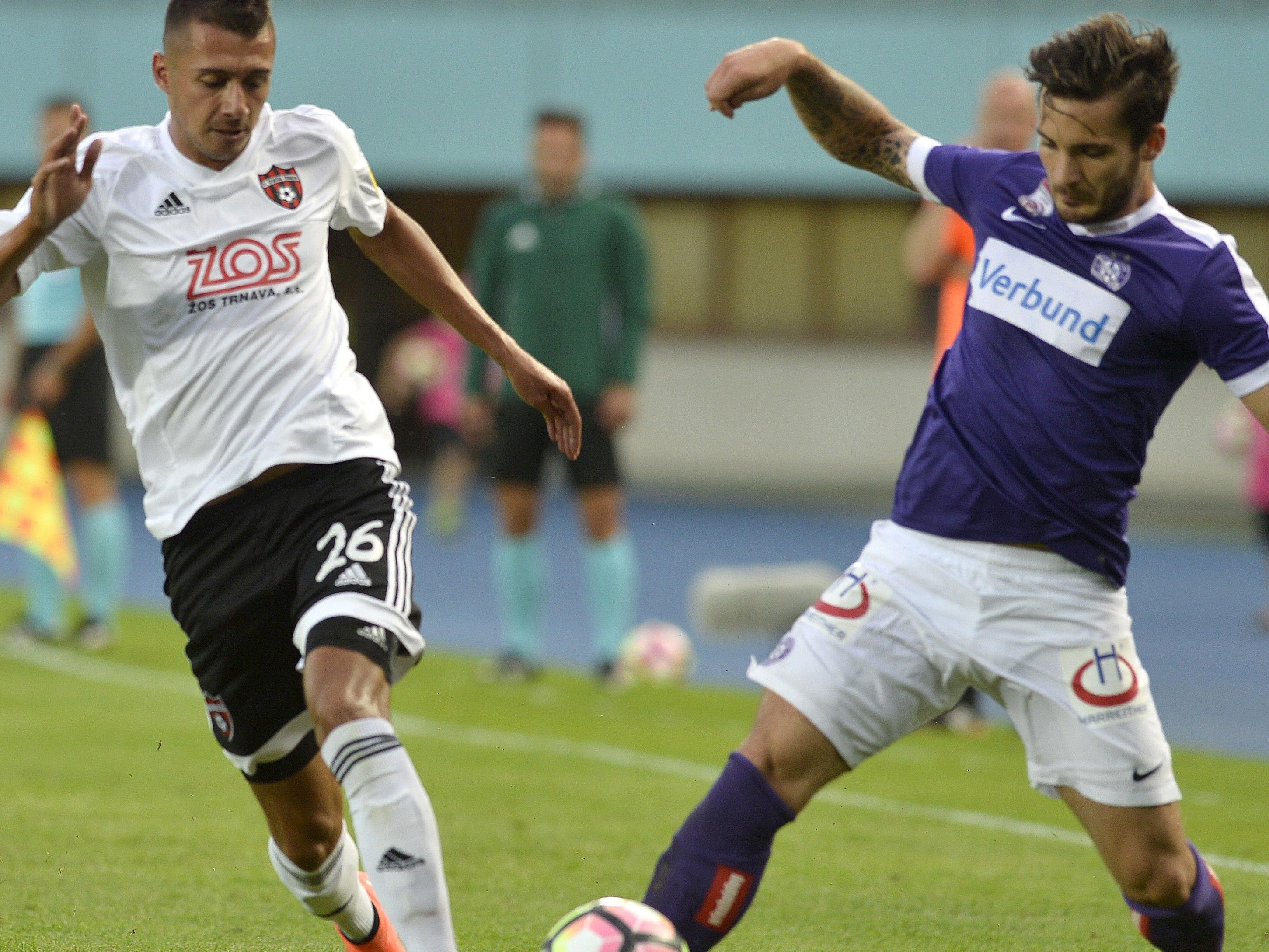 39e6fd7df0 Stimmen zum Spiel Austria Wien gegen Spartak Trnava - Fussball ...