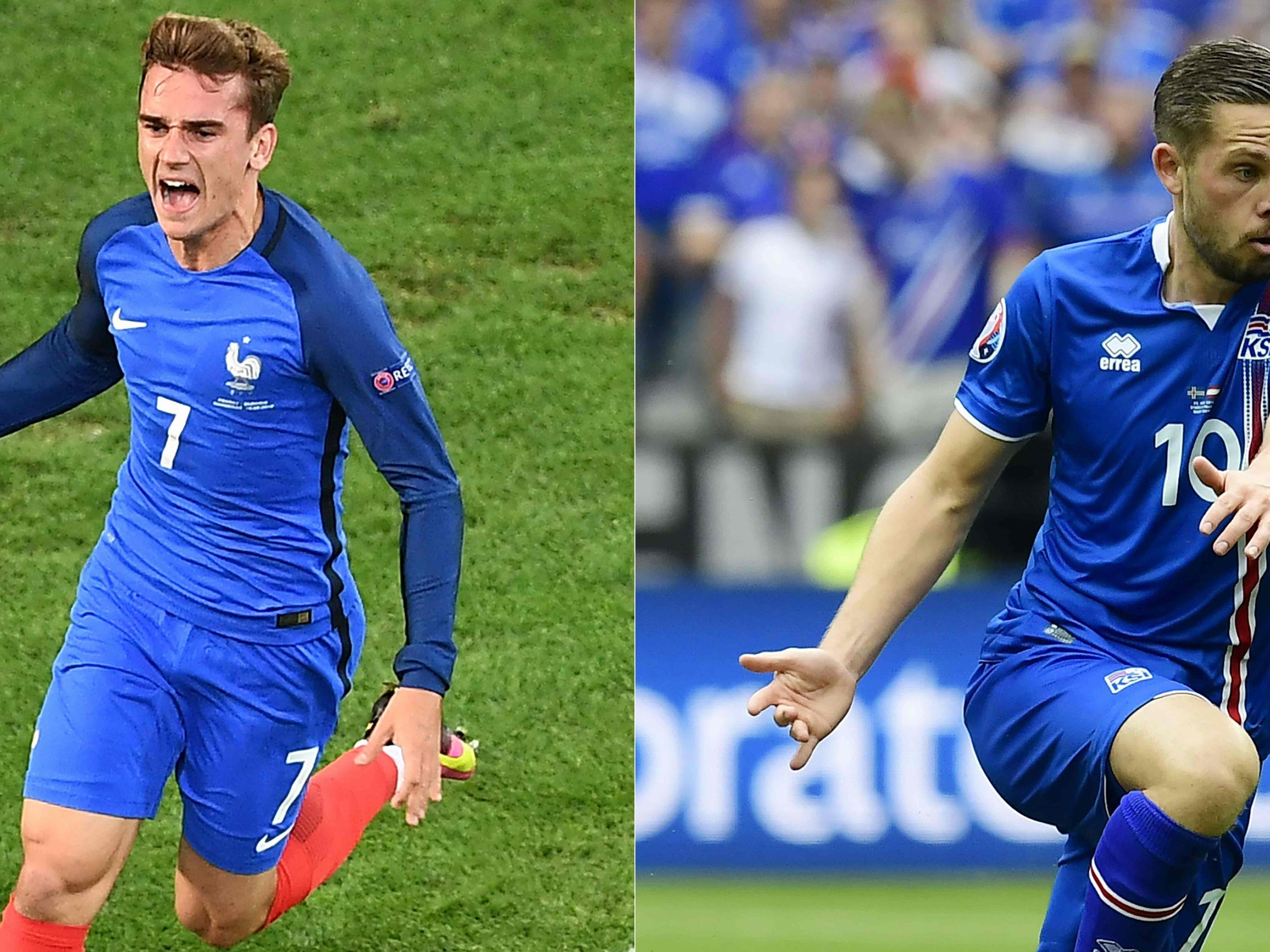Euro 2016 Frankreich Gegen Island Im Live Ticker Fußball Em