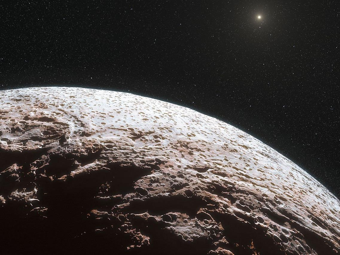 Jenseits des Neptuns wurde ein Zwergplanet entdeckt.