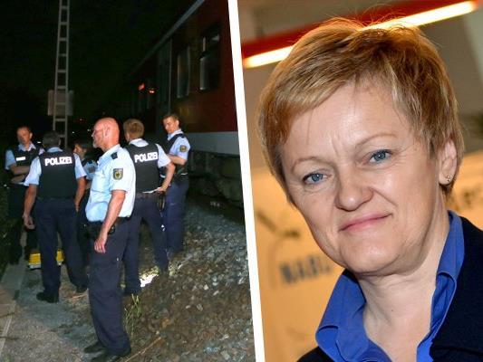 Grünen-Politikerin Künast hat das Vorgehen der Polizei bei der Axt-Attacke in Würzburg kritisiert.