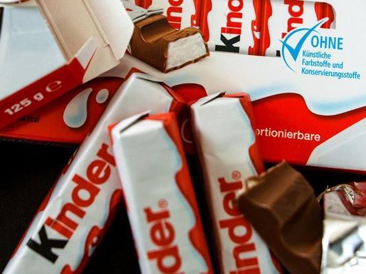 """In den """"Kinder-Riegeln"""" von Ferrero hat die Organisation Foodwatch Verunreinigungen festgestellt."""