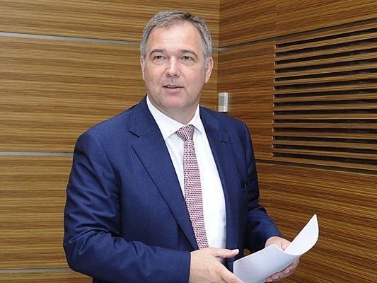 """""""Es geht aufwärts"""", freute sich Wirtschaftskammerpräsident Walter Ruck"""