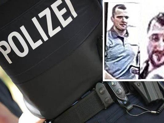 Die Polizei fahndet nach zwei Täter in Penzing