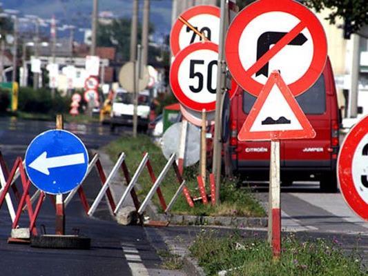 Von 18. Juli bis Anfang August ist die Döblinger Haupstraße nur einspurig befahrbar.