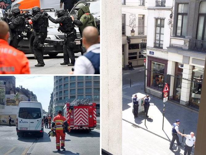 Die Polizei hat in Brüssel einen Terrorverdächtigen unter ihre Kontrolle gebracht.