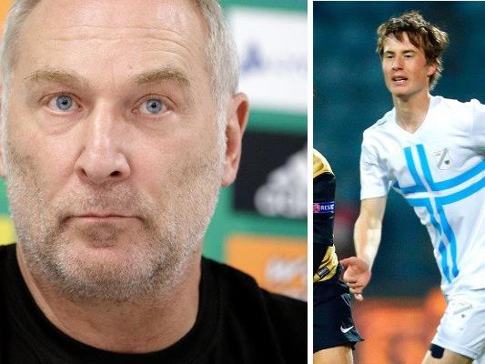 Rapid-Sportdirektor Andreas Müller hat Ivan Močinić für Hütteldorf begeistern können.