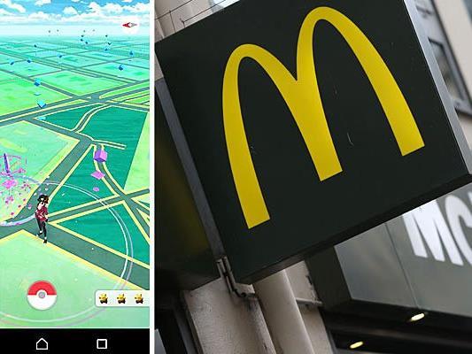 """Eine Wiener McDonald's-Filiale lockt Fans von """"Pokemon Go"""" an"""