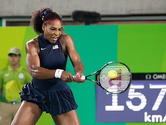 Serena Williams muss in New York um ihre Nummer-eins-Position kämpfen