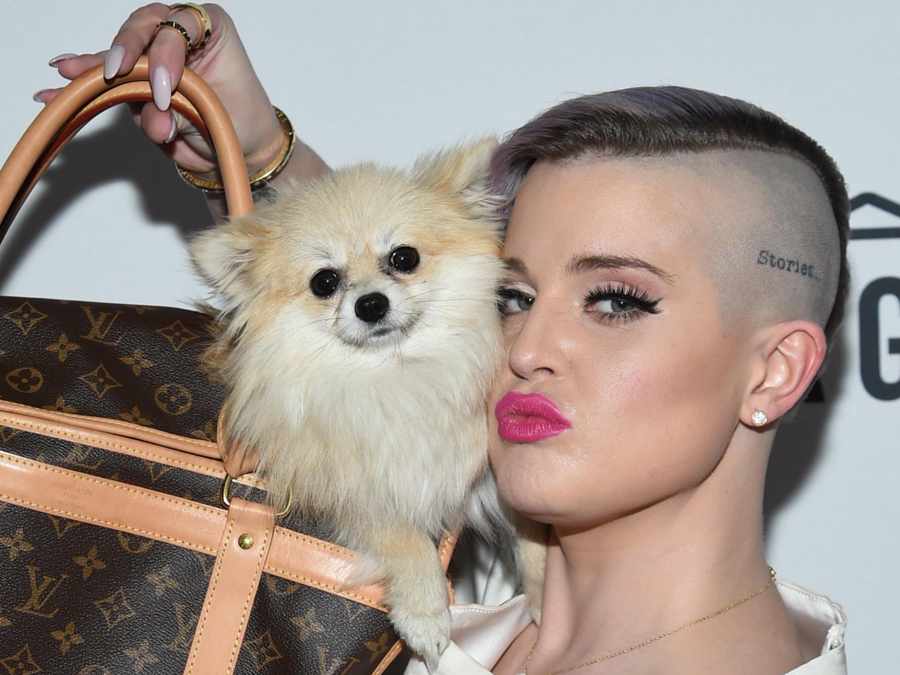 "Kelly Osbourne als Model für die ""Style Bible"" in Wien."