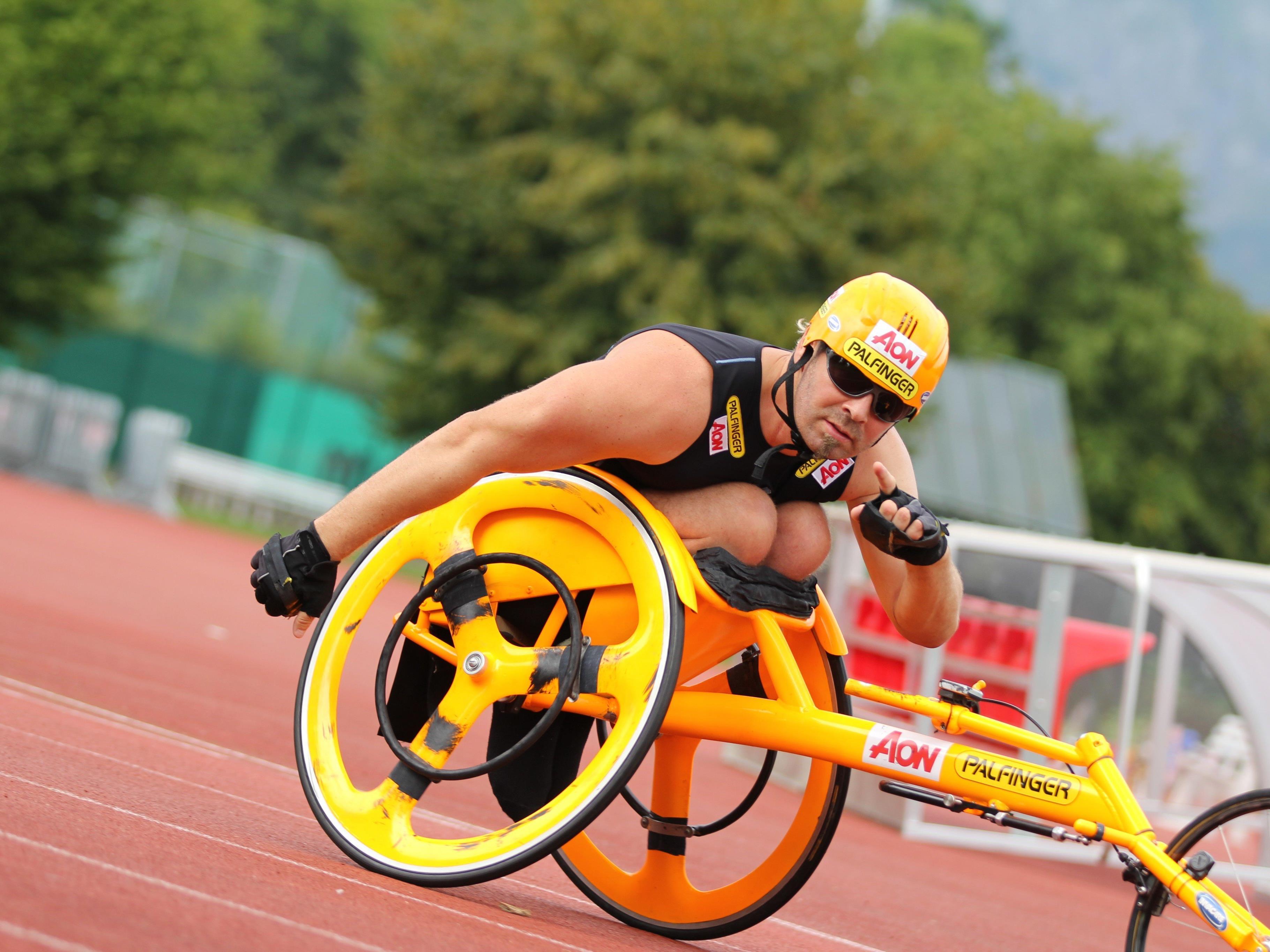 Geierspichler fährt mit Selbstvertrauen zu den Paralympischen Spielen in Rio.