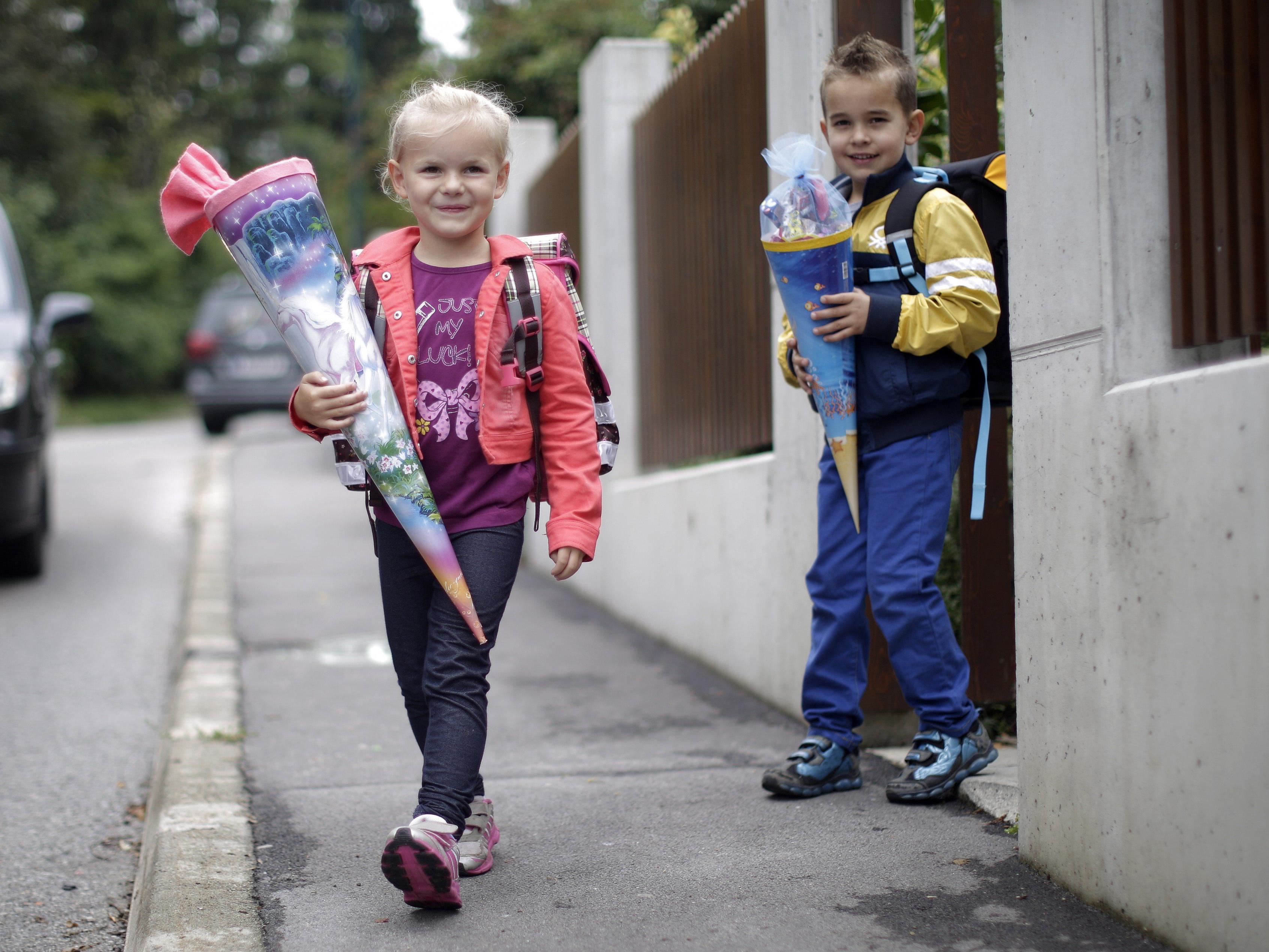 Für 19.000 Kinder in Wien beginnt im September ihre Schullaufbahn.