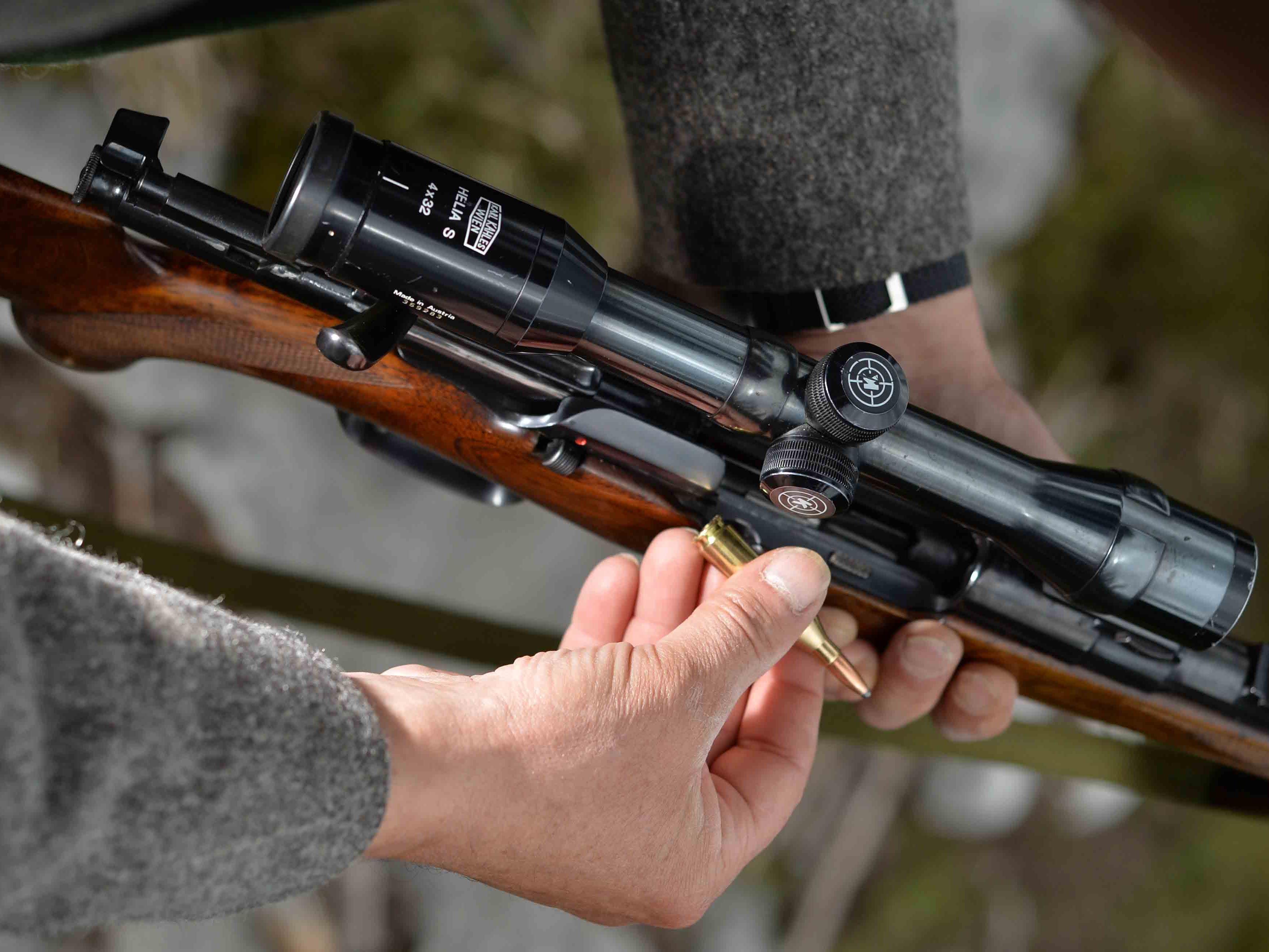 Knapp 65.000 zusätzliche Waffen registriert.