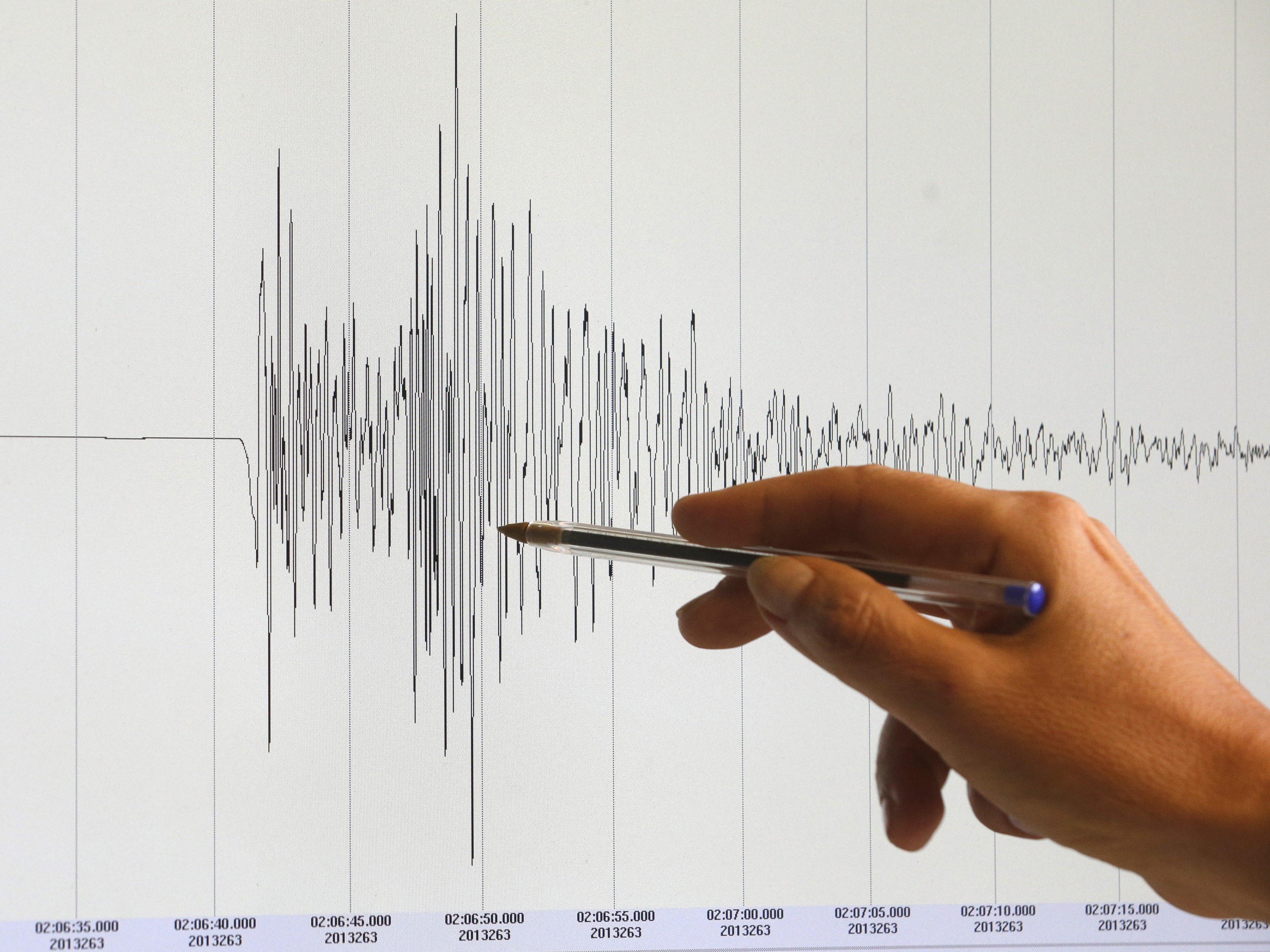 Das Erdbeben ereignete sich im Bezirk Neunkirchen in Niederösterreich.