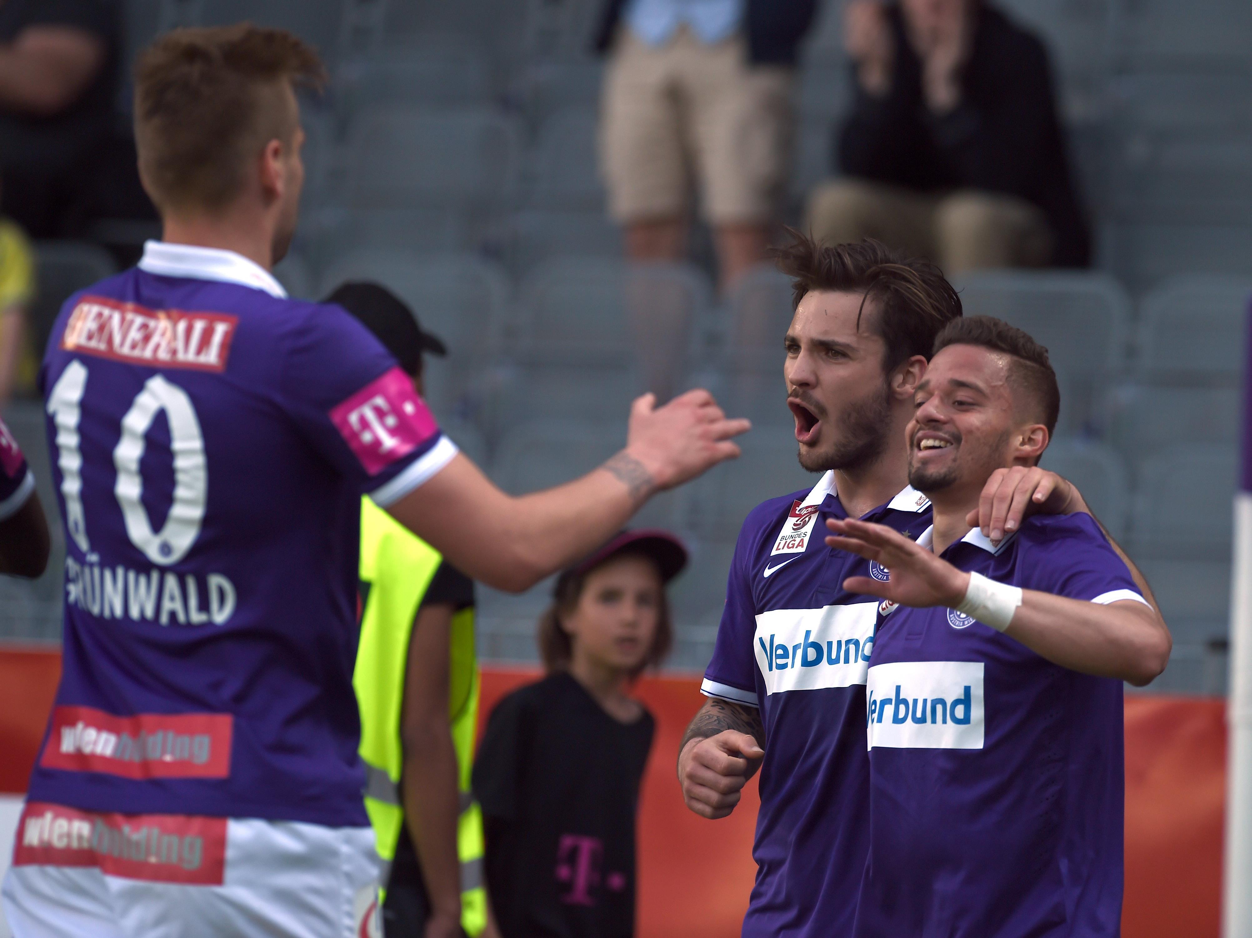 Die Wiener Austria kämpft gegen Rosenborg Trondheim um den Einzug in die Europa-League-Gruppenphase.