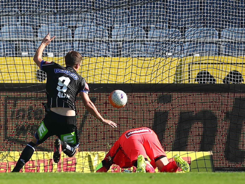 Die Wiener Austria verlor mit 3:1 gegen Sturm Graz.