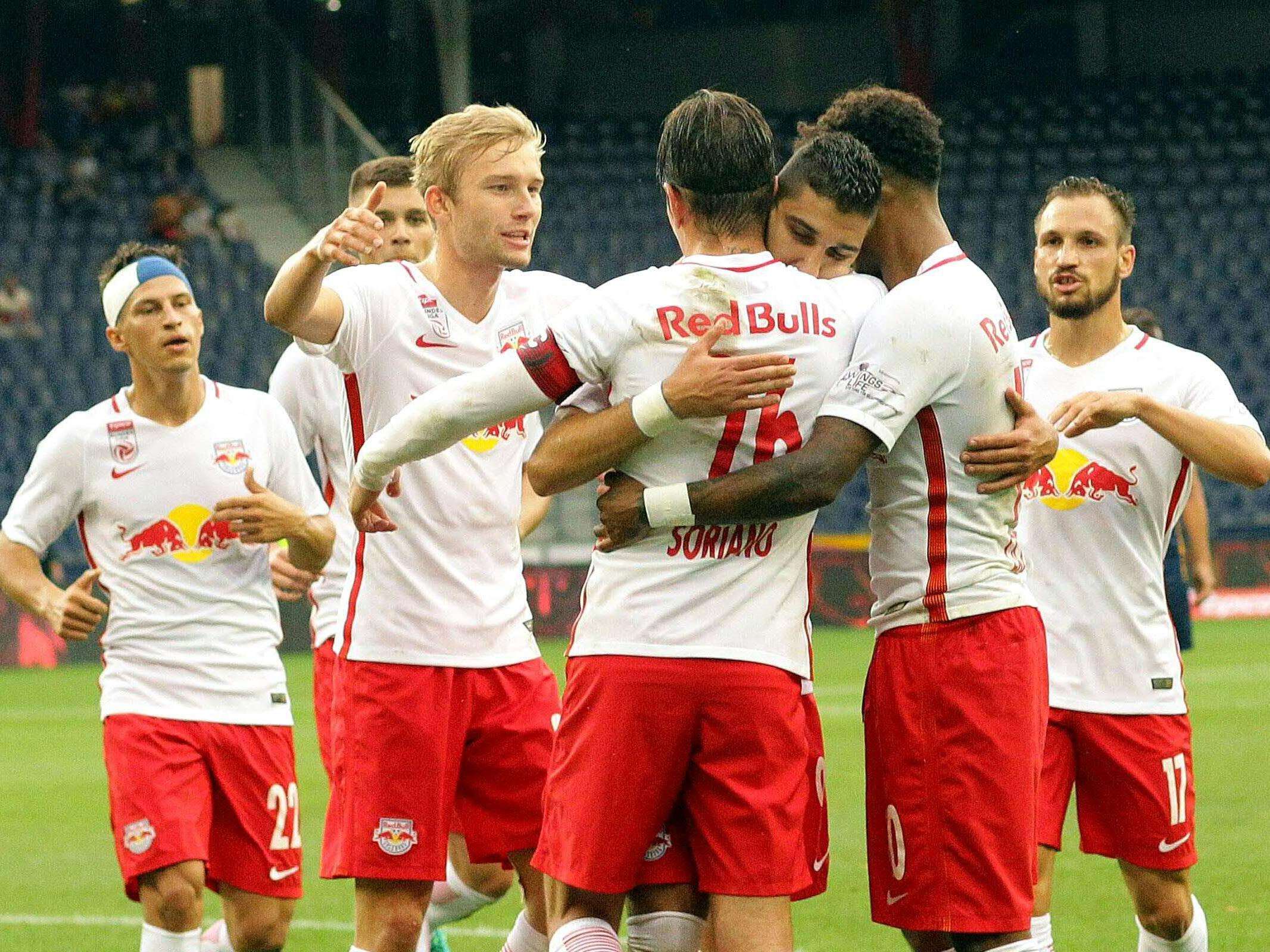 LIVE-Ticker zum Spiel SV Ried gegen Red Bull Salzburg ab 16.00 Uhr.