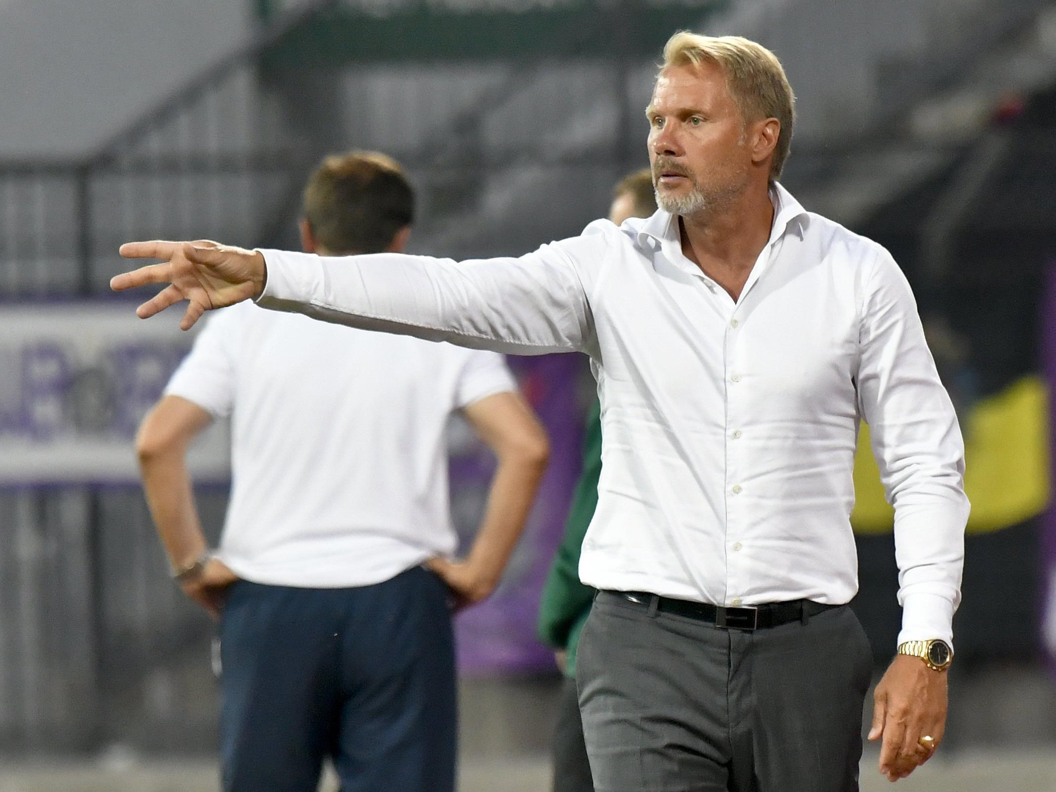 Austria-Trainer Thorsten Fink setzt auf Nachwuchstalent Dominik Prokop.