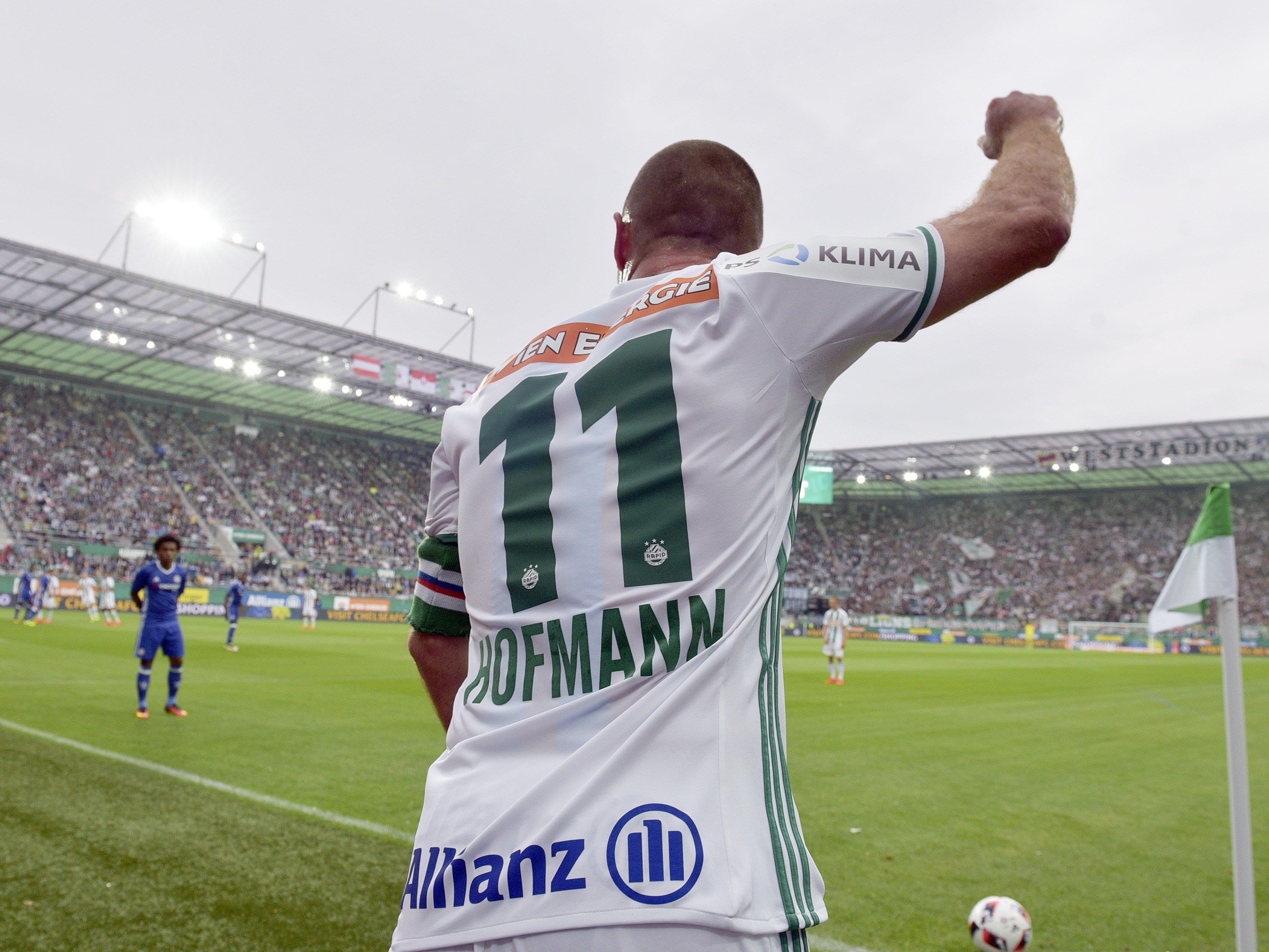 Rapid-Kapitän Steffen Hofmann hat sich zurück zum Training gemeldet.