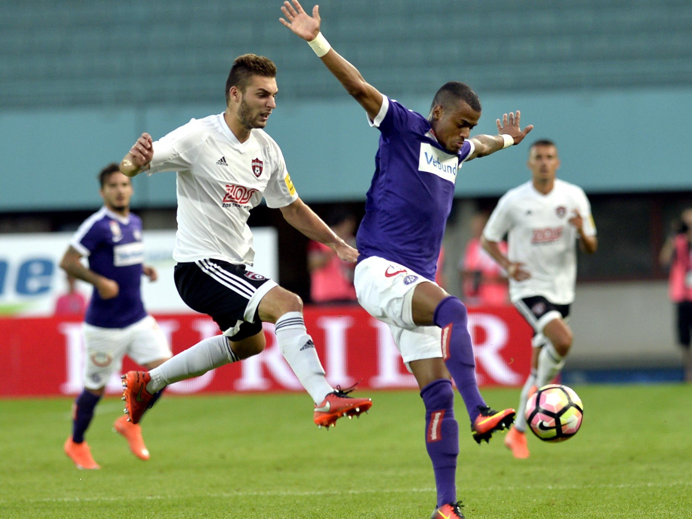 Im Happel-Stadion kassierte die Austria gegen Spartak Trnava vor einer Woche eine unerwartete 0:1-Niederlage.